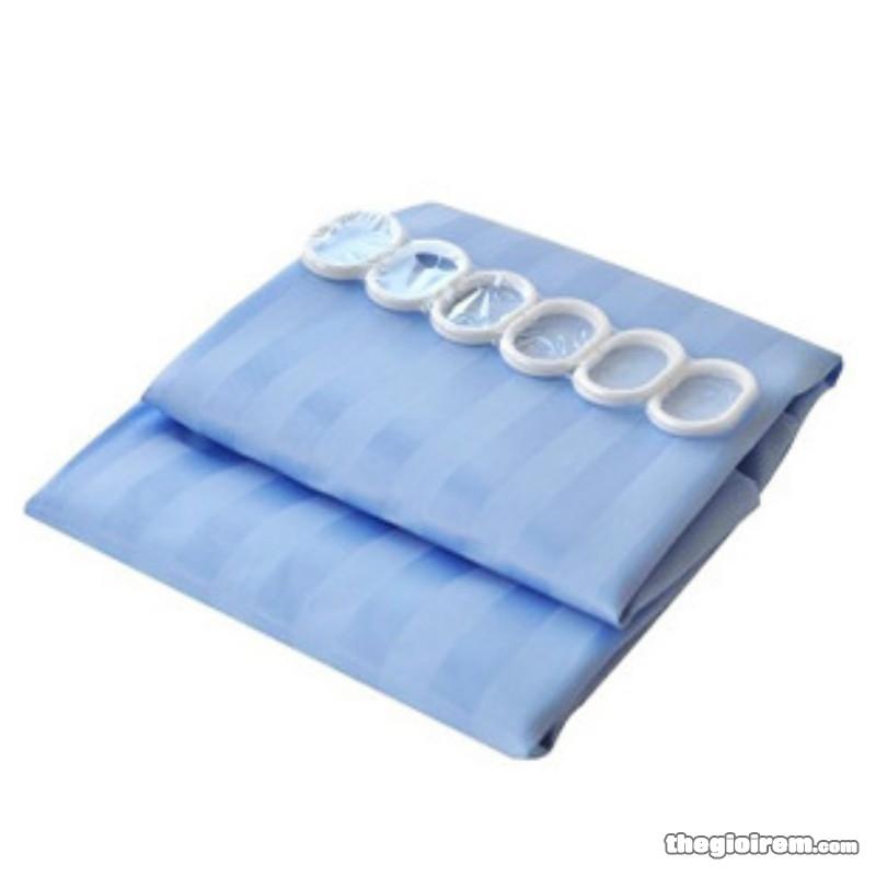 Rèm phòng tắm nhựa trong Mystery