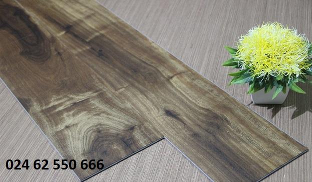 Sàn nhựa hèm khóa vân gỗ GoldenFloor